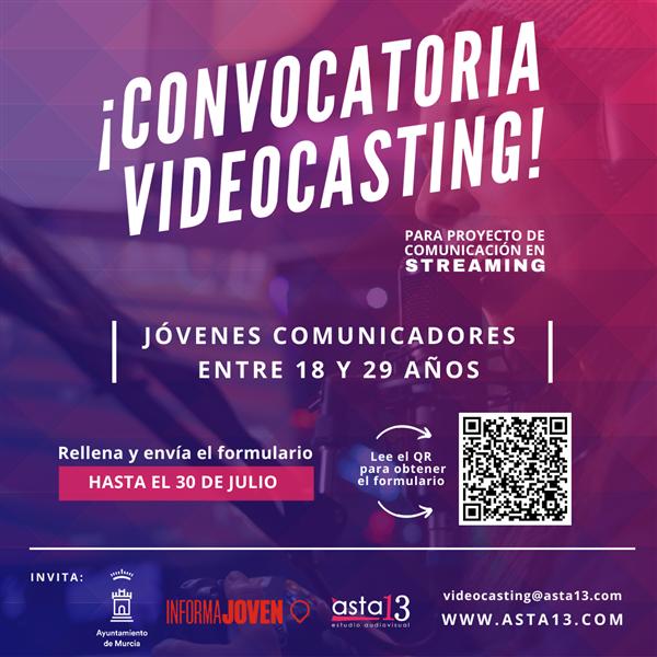 20210721 Covocatoria Videocasting
