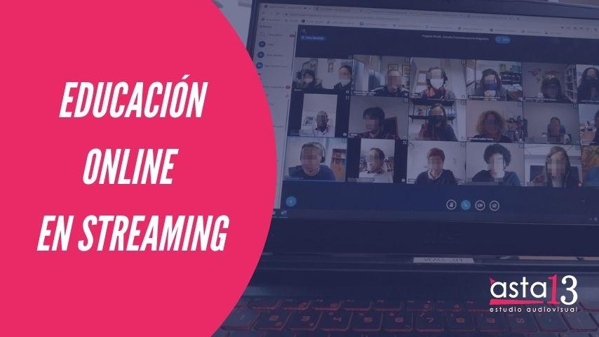 Educación online en streaming